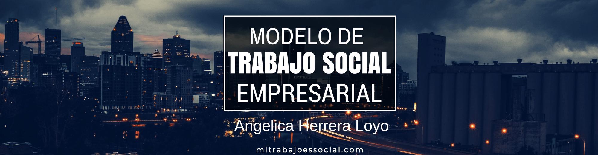 Trabajo Social Empresarial