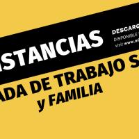 Constancias de la Jornada de Trabajo Social y Familia