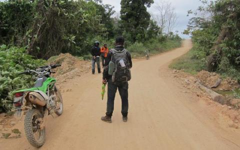 Survey Jalan dan Jembatam Pulau Taliabu