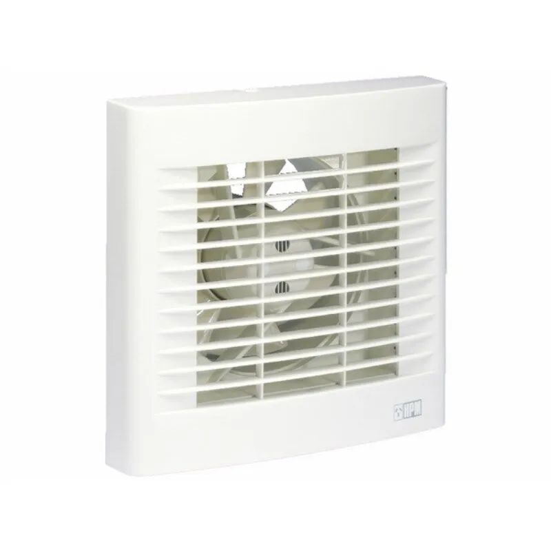 hpm heavy duty wall exhaust fan with auto shutters 150mm