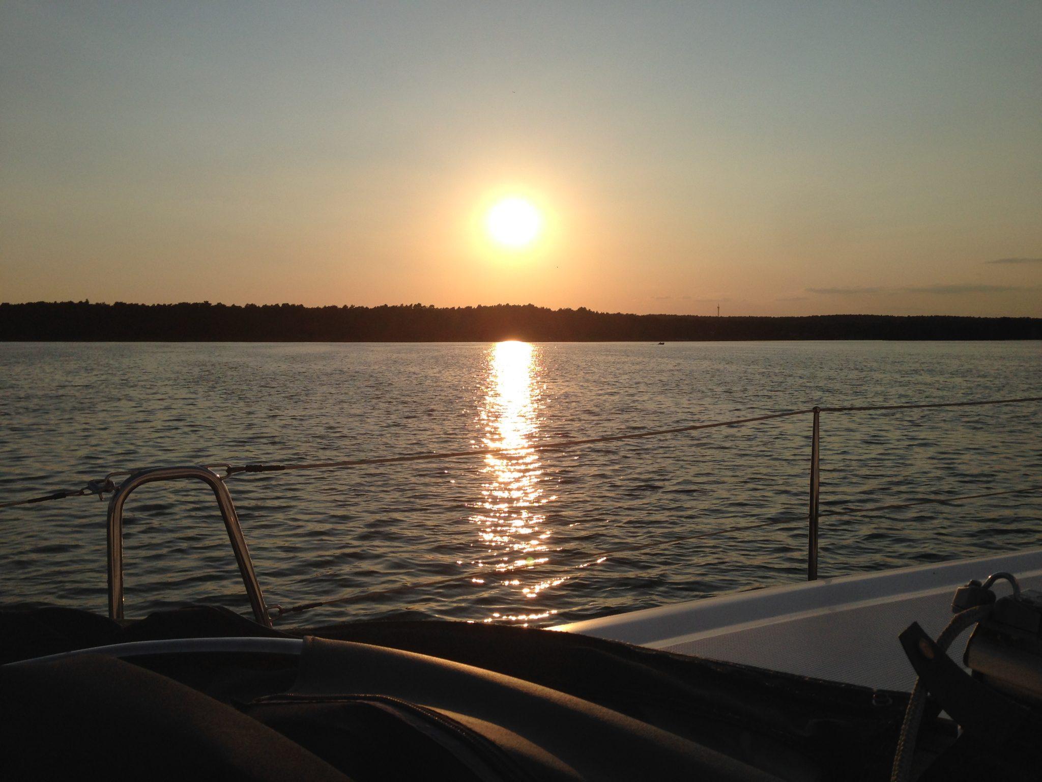 Abendsonne auf dem Scharmützelsee