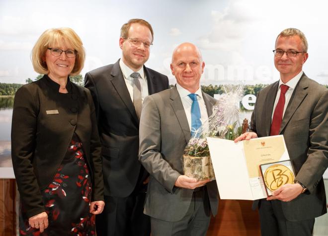 1. Preis Tourismuspreis Brandenburg 2018