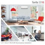 Catálogo - Tarifa 2016 Mitsubishi Electric aire acondicionado 2017