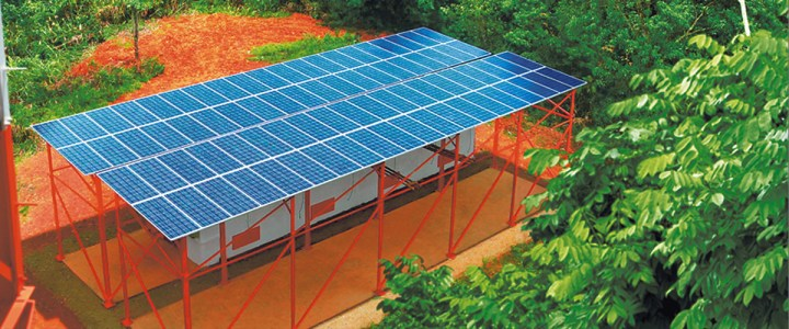 Mitsubishi Electric Quality   Solar Power System   Indonesia     Mitsubishi Electric Quality   Solar Power System   Indonesia   Mitsubishi  Electric Case Studies in Asia Pacific