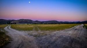 Washoe Valley Moonrise