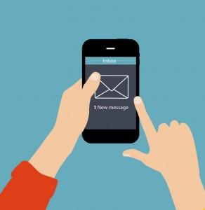 Kundenbindung geht heute auch mobil und zwar mit einem Newsletter.