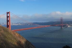 Foto golden gate bridge silicon valley