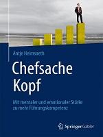 Buchcover Chefsache Kopf Antje Heimsoeth