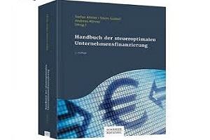 Coverfoto Handbuch der steueroptimalen Unternehmensfinanzierung