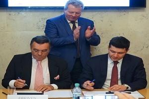 Bild Kooperationsabkommen Unterzeichnung