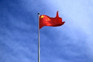 Patentanmeldungen China Flagge Foto