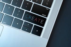 Gründungen Create Laptop Foto