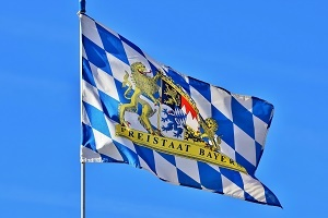 Standortranking Bayern Flagge Foto