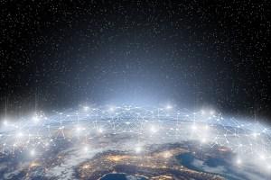 Netzwerk weltweit Foto