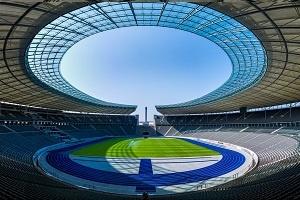 Foto Europameisterschaft Berlin Olympiastadion