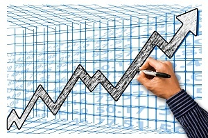 Foto Wachstumsprognose Chart