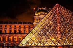 Brexit Paris Louvre Foto
