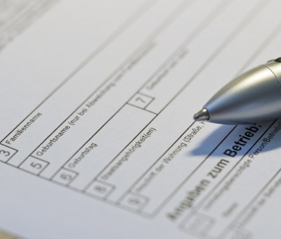 Bürokratieabbau Foto Stift Formular