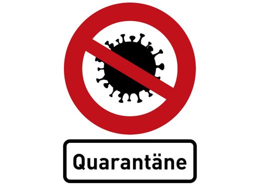 Coronavirus Quarantäne Bild