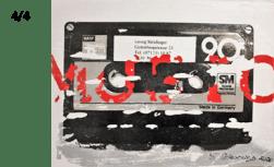 MIXTAPE BASF, 2020 (Georg Steidinger) 4 Letterart - Georg Steidinger
