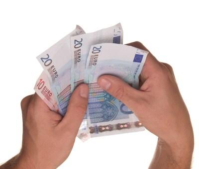 Entlohnungsmodelle Foto Geld