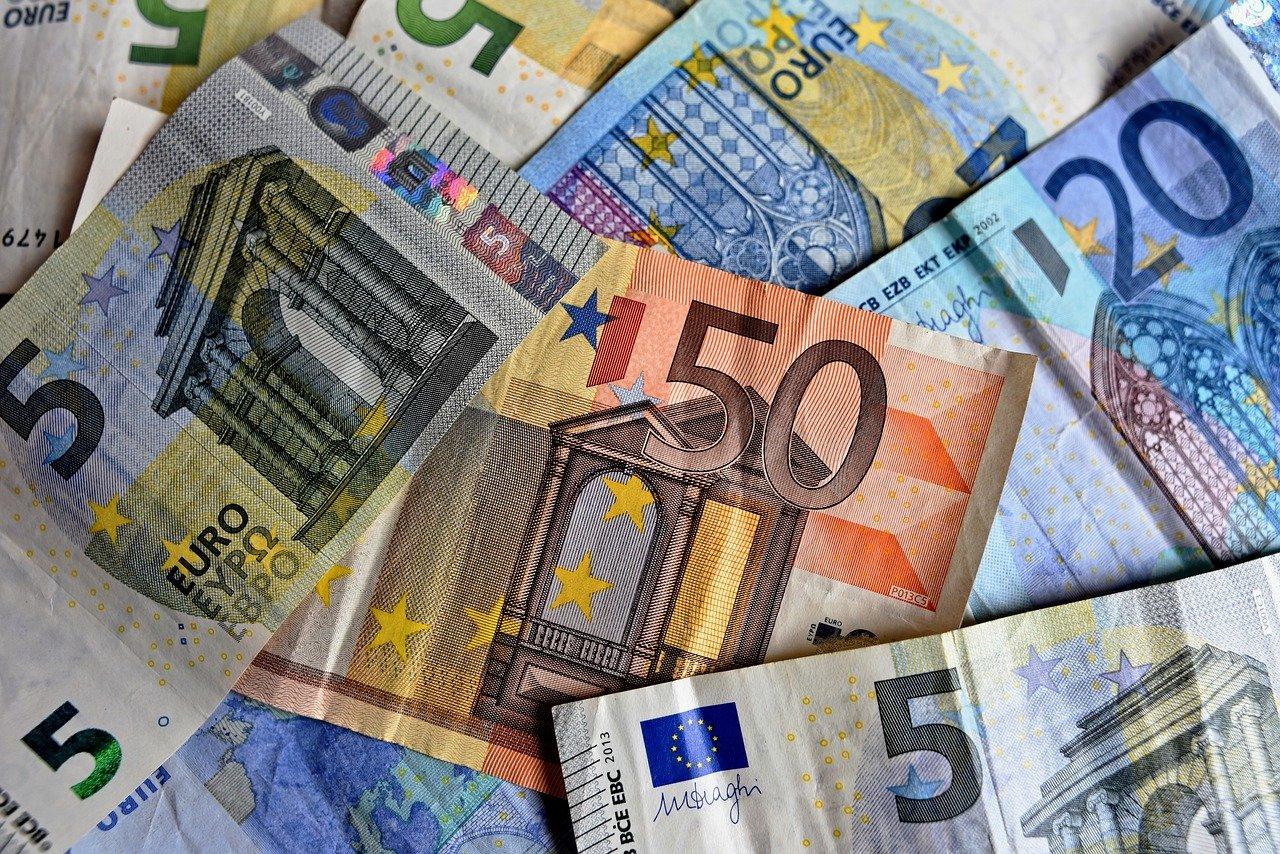 Geschichte Bargeld Geld Foto