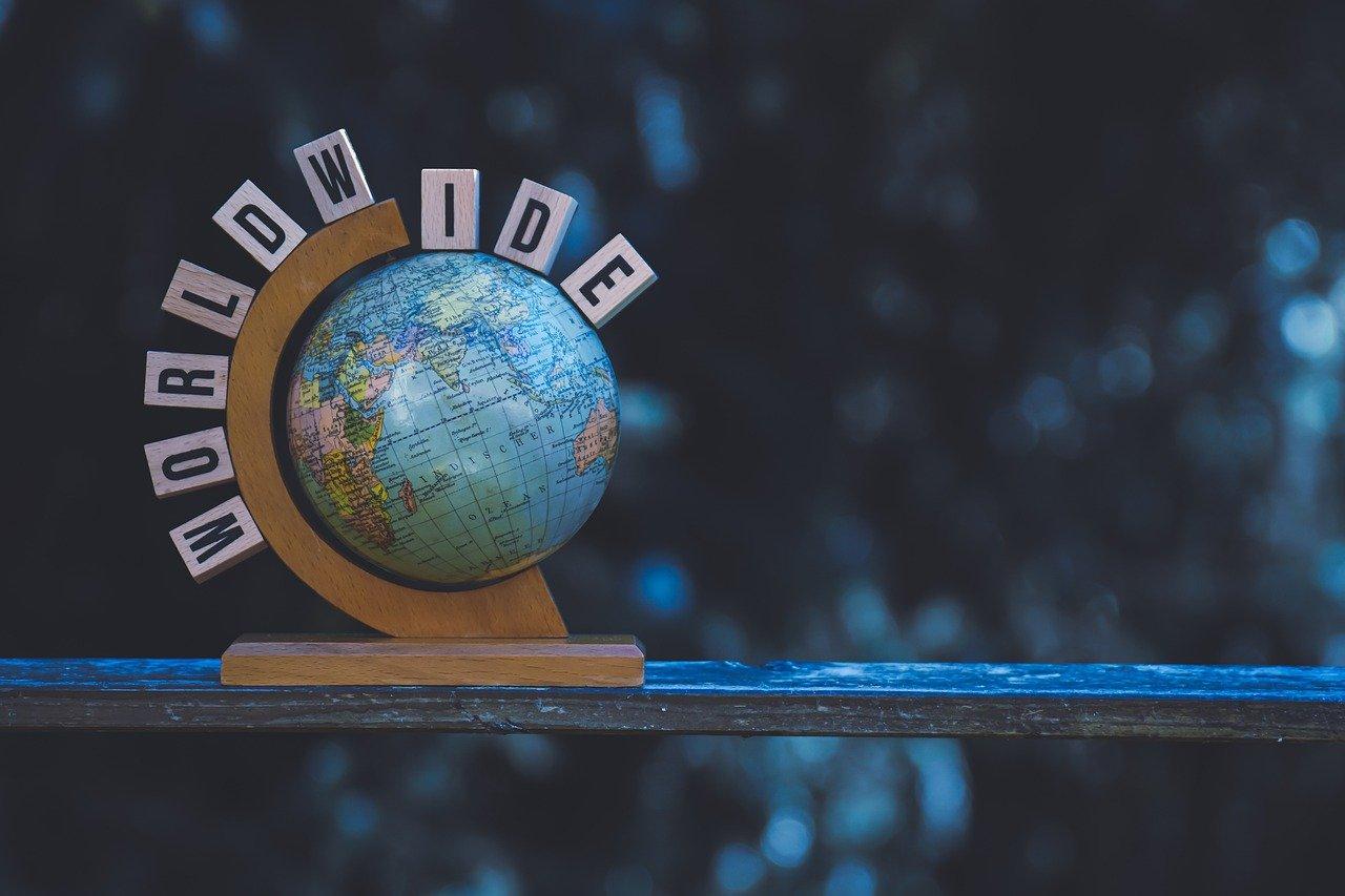 Internationalisierung Foto Globus