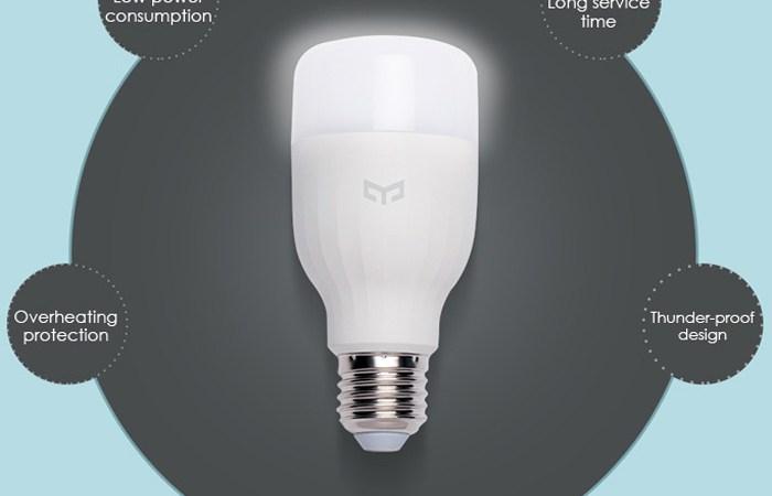 Xiaomi yeelight e27 bulb led: recensione foto miui italia