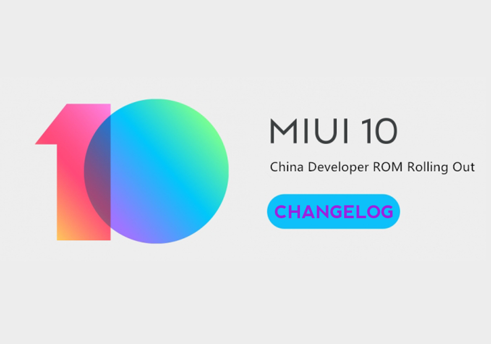 Rilasciata MIUI 8.10.18 China Developer, changelog integrale