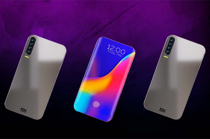 Xiaomi Mi 10 120 Hz concept