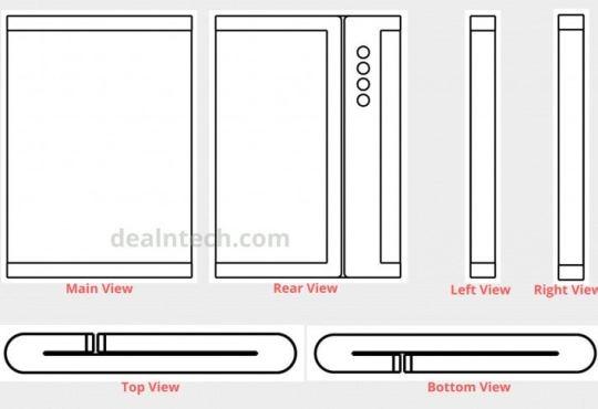 Xiaomi Mi MIX Alpha flessibile brevetto