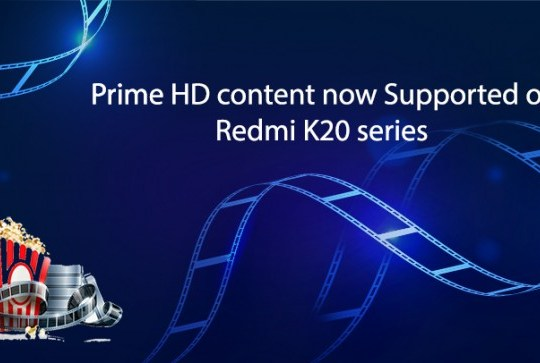 Amazon Prime Video HD su Redmi K20 Xiaomi Mi 9T