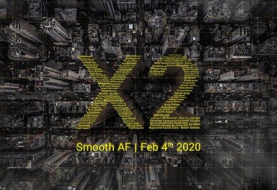 POCO X2 annuncio