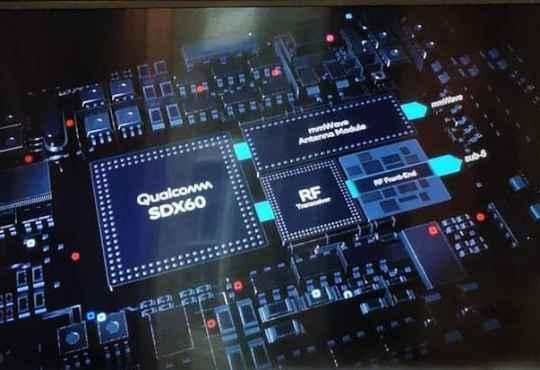 Qualcomm Sapdragon X60 modem 5G