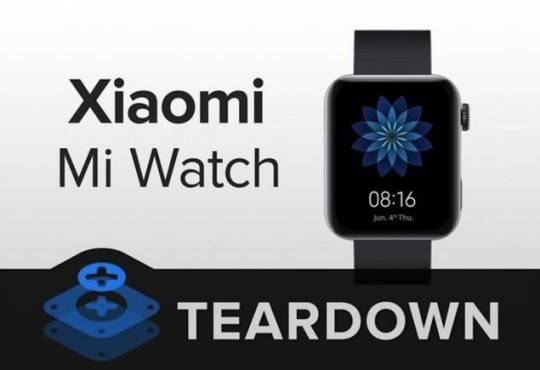 Xiaomi Mi Watch Teardown