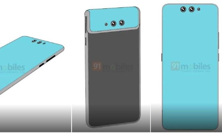 Xiaomi brevetto smartphone flip camera display flessibile
