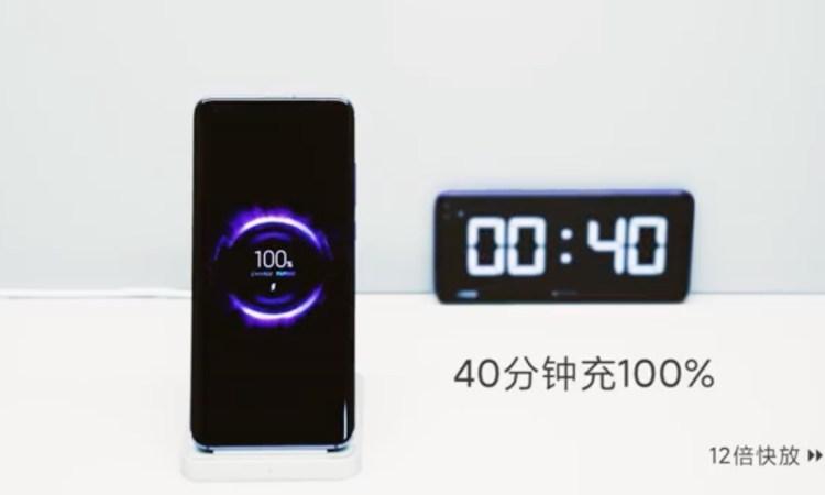 Xiaomi test ricarica rapida wireless 40W