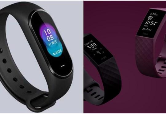 Xiaomi Mi band 5 vs Fitbit Charge 4