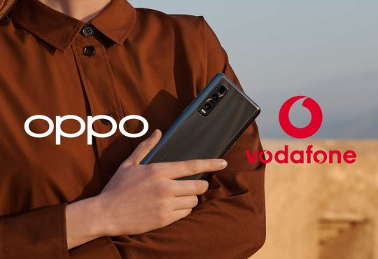 OPPO Vodafone partnership europea