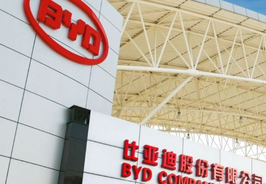 Xiaomi investimento BYD