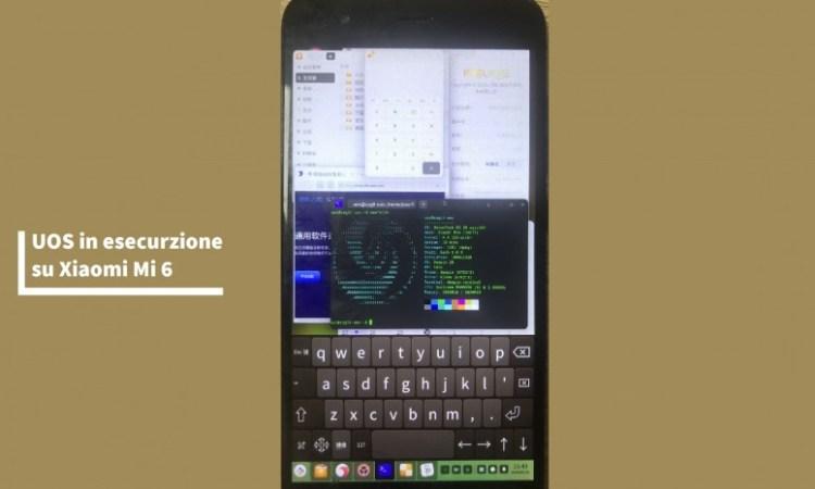 Xiaomi Mi 6 con UOS