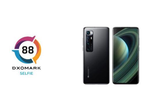 Xiaomi Mi 10 Ultra selfie DxOMark