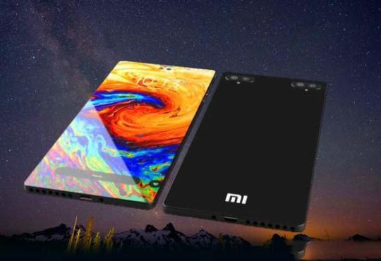 Xiaomi Mi 12 display LTPO concept