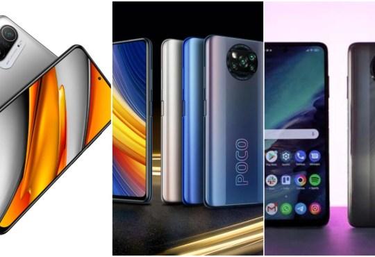 POCO F3 vs POCO X3 Pro vs POCO X3 NFC