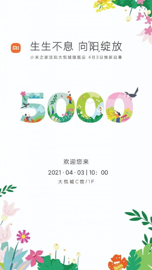 Xiaomi-MI-Home-5000 negozi
