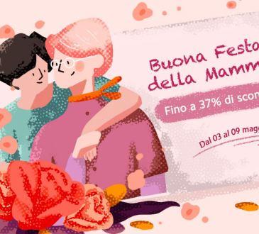 Xiaomi Italia offerte festa mamma