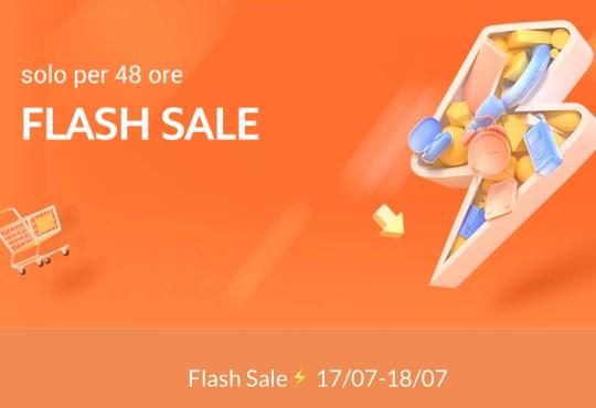 Offerte Xiaomi flash sale 17 - 18 luglio