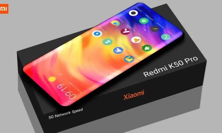 Redmi K50 Pro concept