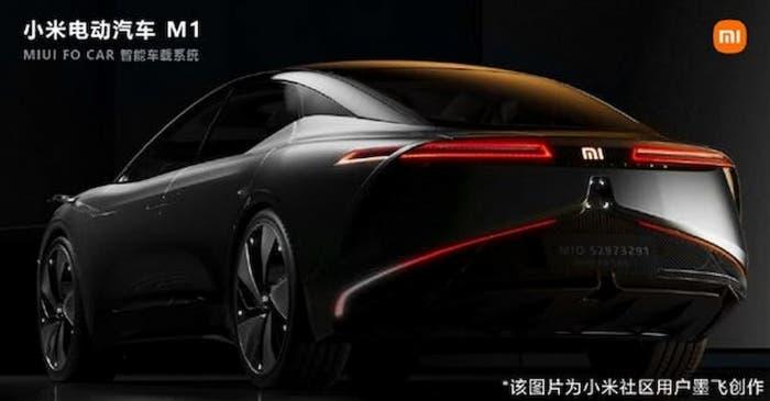 Xiaomi auto elettriche concept MIUI for Car