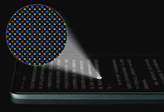 Redmi Note 11 display AMOLED pixel diamante